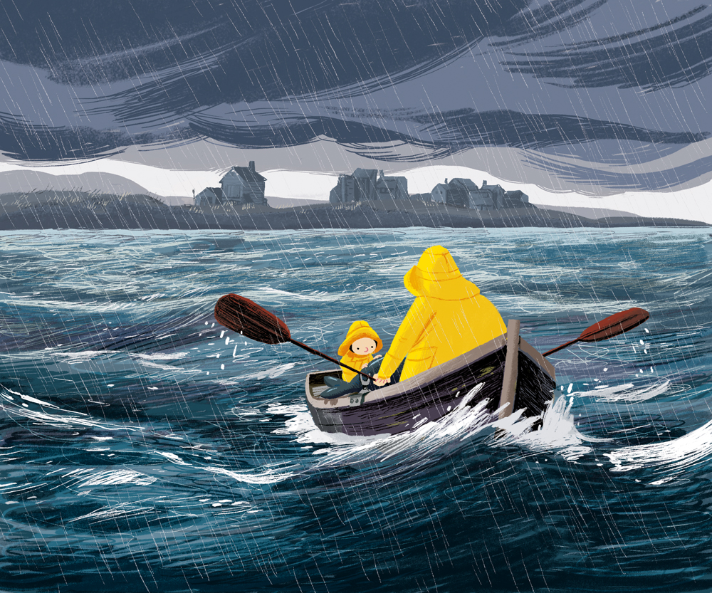 Benji Davies, The Storm Whale